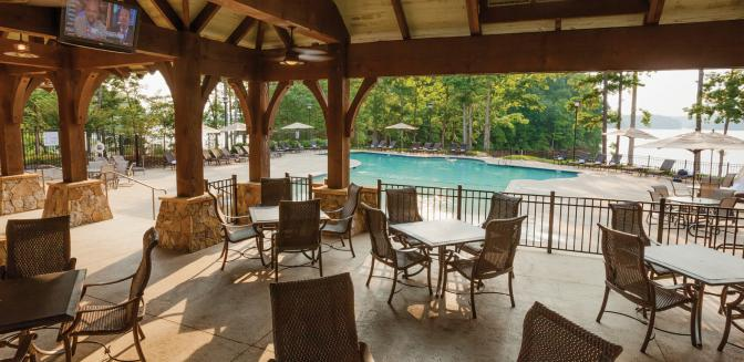 The Cliffs Keowee Springs Swimming Pool Area