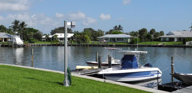 The Moorings waterfront homes