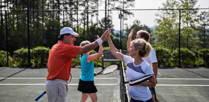 The Reserve At Lake Keowee Tennis