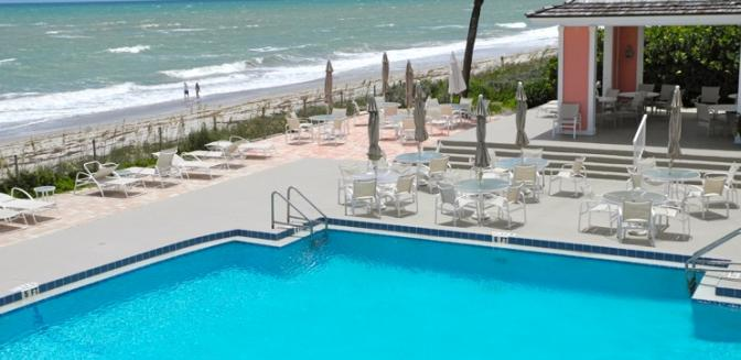 Vero Beach FL Homes Sea Oaks Swimming Pool