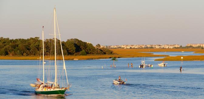 ICW and Wrightsville Beach