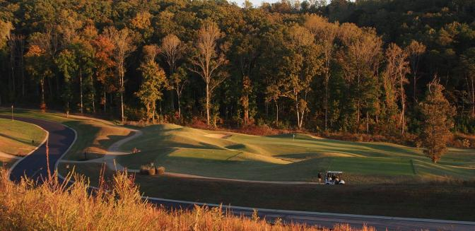 WindRiver Golf Course  Tellico Lake