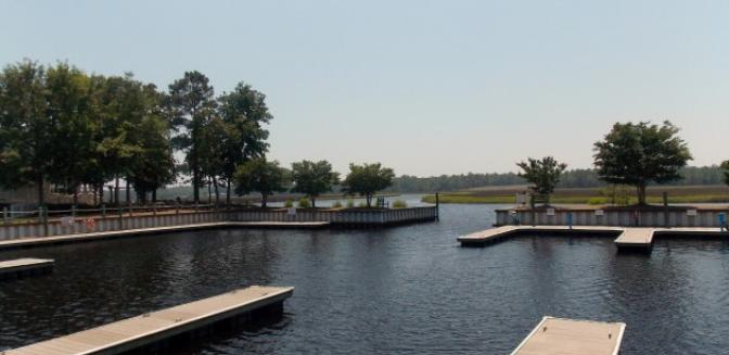 Winding River Plantation NC Community Docks