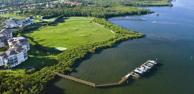 Windstar Naples Bay FL Waterfront Homes
