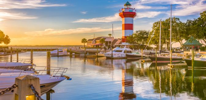 Hilton Head's Harbour Town Lighthouse