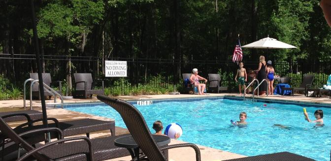 Real Estate Agents In Savannah GA Waterways Township Swimming Pool