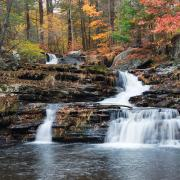 The Coves waterfall