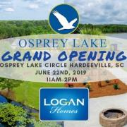 Logan Homes Osprey Lake coastal South Carolina